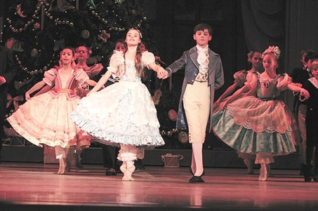 Austin Butler, of Pennsville, in Pennsylvania Ballet's production of the 'Nutcracker.'