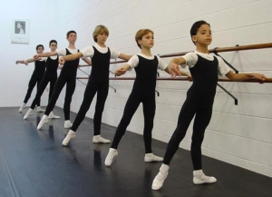 Boys at San Diego Acad of Ballet
