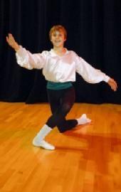 Oliver Cooper, Elmhurst School of Dance, 2009