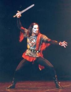 Stéphane Bullion in Ivan the Terrible (photo - Icare)