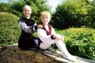Alexander Halsall, 9, and Saul Woodend, 10, Royal Ballet School 2009