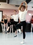 Spencer Wetherington, 11, of Bridgeton (center), Adam Zabielski, 12, (left) at Maxine's Dance Studio 2009