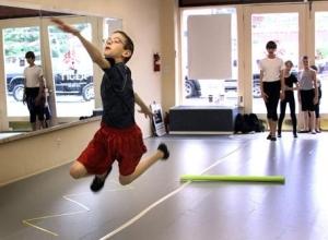 Centralia Ballet Academy's boys-only ballet class 2009