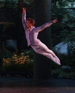 Daniel Ulbricht of NYCB performs George Balanchine's Tschaikovsky Pas de Deux 2008