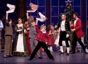 Cole McMason, then 9, in last year's Studio West's Nutcracker