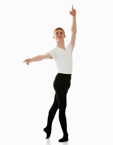 Young British dancer makes his...