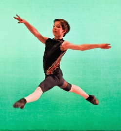 Tanner Bleck, 14, danced in Next Generation Ballet's Summer Fantasy 2012