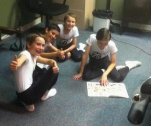 Boys at School of Alberta Ballet 2012