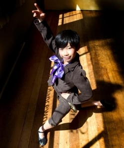 Rimu Kiritoshi, 10, has been selected as an extra for the Royal New Zealand Ballet's Giselle 2012