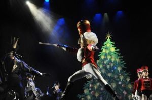 Theo Pilette, 13, dances as the Nutcracker Prince in a rehearsal of Clara's Dream 2012