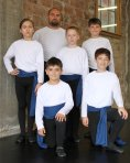 Boys at Centralia Ballet Academy 2011