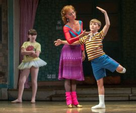 Noah Parets, 13, as Billy Elliot (Photo by Doug Blemker) 2012-02