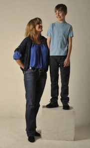 Diane Strand and her son Logan,11,  who began dancing when he was 5 (Photo by Liz Margerum} 2013