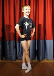 Samuel Banks, 10, has landed two roles in an English Youth Ballet production of The Sleeping Beauty 2013