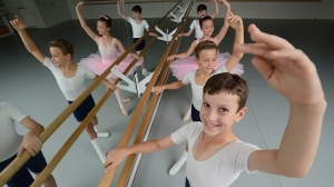 Boys at the Australian Ballet School 2013