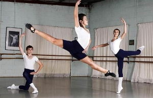 Gold Coast dancers Grady Ferricks-Rosevear, Josh Price and Navrin Turnbull (Photo Jerad Williams) 2013