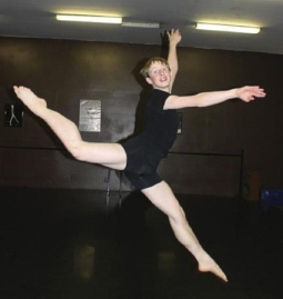 Joe Howarth, who practices ballet at Dance Red Bluff, has been accepted into the Joffrey Ballet School in New York