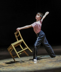 Mitchell Tobin (Billy) in Billy Elliot the Musical (Photo by Amy Boyle) 2013