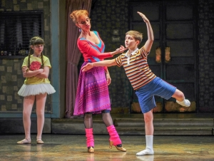 Noah Parets star in Billy Elliot (Photograph by Ann Boyle) 2012