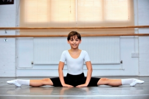 Samuel Phelps Jones, 11,  is off to the Royal Ballet School in September