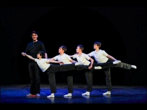 The Tour Billys (l-r Mitchell Tobin, Noah Parets, Drew Minard, Ben Cook) 2013