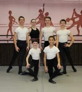 Vineland Regional Dance Company members 2013