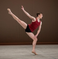 William Dugan, 16, at the Prix de Lausanne 2013