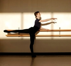 William Dugan, 16, will study at the Hamburg School of Ballet in Hamburg, Germany 2013