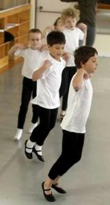 Boys Class at American Ballet Academy 2013