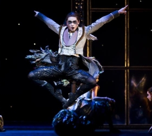 Liam Mower in Matthew Bourne's Sleeping Beauty ( Photo, Dance Europe) 2013
