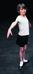 Ronnie Bates, 9, successfully auditioned for EYB's Swan Lake 2013