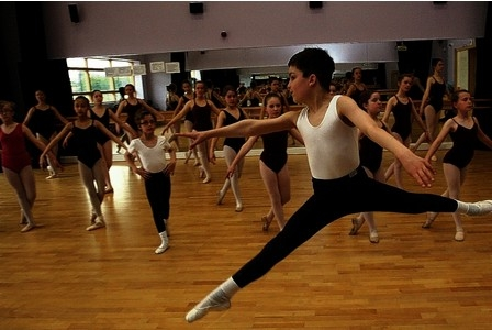 William Smith, 11 has won a place at Northern Ballet Academyl after dancing for only six Months 2013