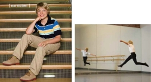 Aidan Colligan, 10, dances balletand plays sports 2013