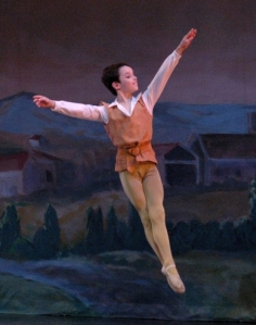 Alex Babayev Performing In The Nutcracker Ballet