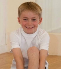 Jake Bradbury, 9, has been selected to join the RBS's associate programme 2013