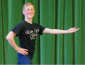 Jake Inman,14,will dance in EYB's Swan Lake 2013