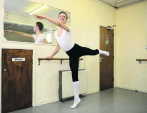 Joey Goodwin,17, has won a scholarship to Performers College 2013