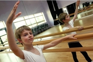 Matteo Rollini, 8, has been accepted into the Elmhurst School for Ballet  2013