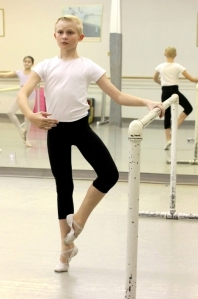 Christopher Thompson, a student at Ballet Academy East 2013 (Photo by Faith Williams)