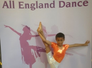 Emile Gooding. 8 , named best modern dancer at national competition 2103