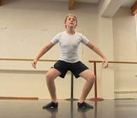 Finn Hepting, 11 will attend National Ballet School 2013