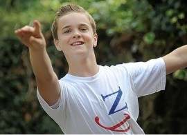 Jed Dyer,12,will perform with the National Youth Ballet ( photo by Malcolm Hart) 2013
