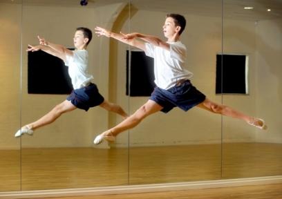 RBS student Johnny Randall, 13, training at NRG Fitness studio2013b