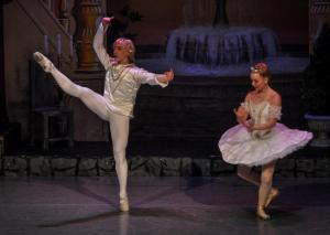 Brennan Benson in Dance Gallery SD's Sleeping Beauty (photo - Dance Gallery SD Facebook) 2012