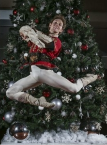 Skylar Campbell, a former surfer boy turned ballet dancer, is dancing the prince in the National Ballet of Canada's Nutcracker (photo by David Cooper) 2013