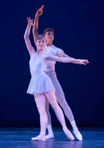 Devin with Lauren Lane, Goldberg Variations (photo by Blaine Covert)