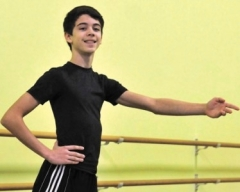Michael Carvalho, 12, plays the title role in Ballet Jorgen's Nutcracker 2013