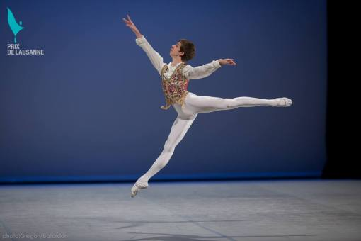 Tanner Bleck at the Prix de Lausanne (photo by Gregory Batardon) 2014