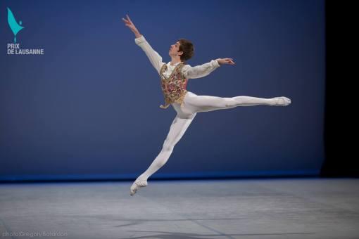 Tanner Bleck at the Prix de Lausanne (photo by Gregory Batardon) 2014