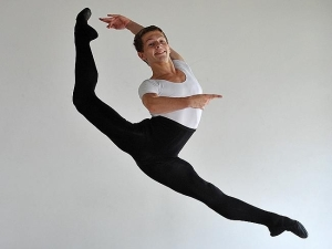 Thomas Dilley, 15, has been selected to compete in the finals of the YAGP  in New York (photo - News Limited) 2014